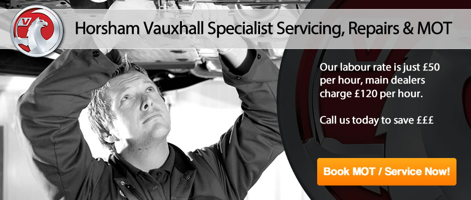 Horsham Vauxhall MOT From £25 - Slider 1