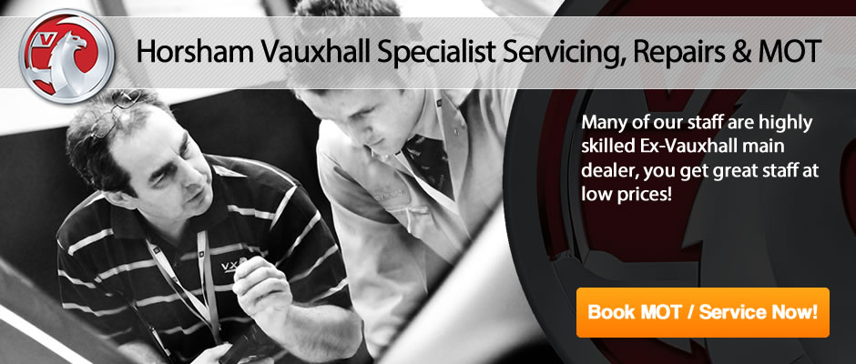 Horsham Vauxhall MOT From £25 - Slider 3