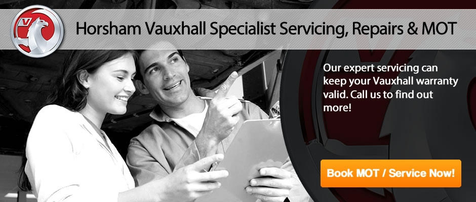 Horsham Vauxhall MOT From £25 - Slider 5
